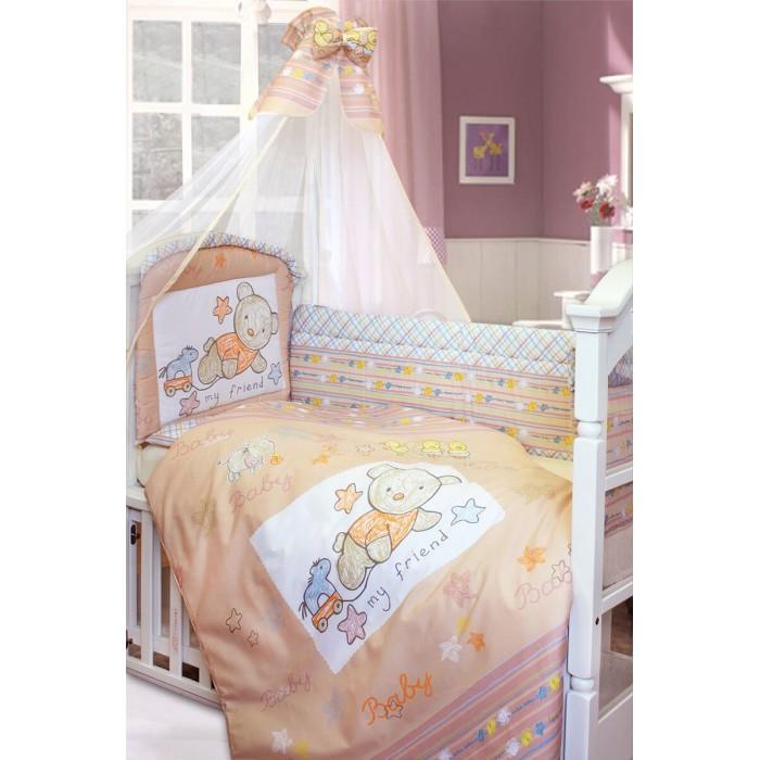 Комплект в кроватку Золотой Гусь Zoo Bear 120х60 (7 предметов)