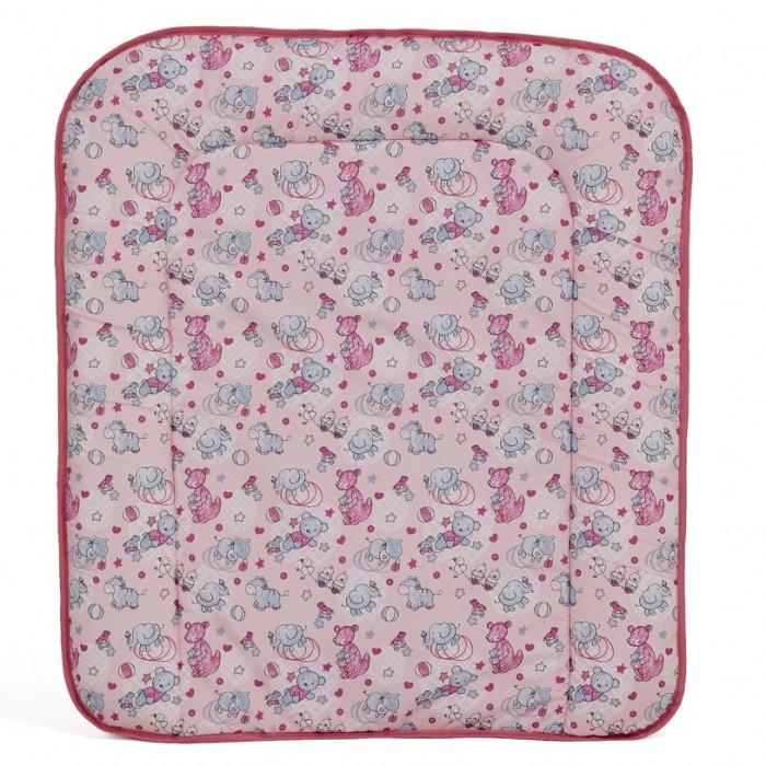 Фея Накладка для пеленания мягкая на комод 60x70