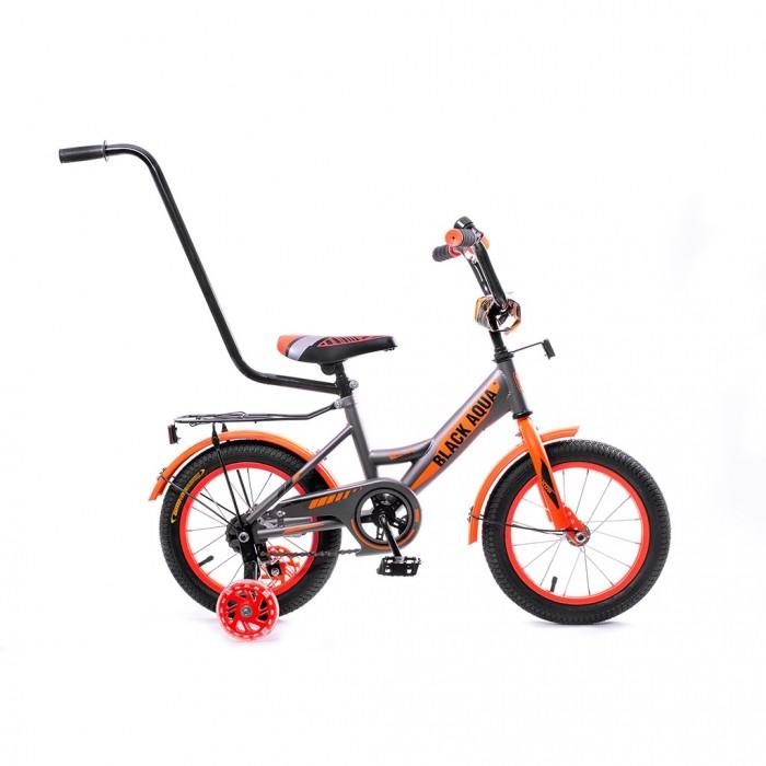 Двухколесные велосипеды, Велосипед двухколесный А.В.Т.Спорт BA 1401-Т с ручкой 14 неон  - купить со скидкой