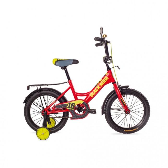 Двухколесные велосипеды А.В.Т.Спорт BA Fishka 12 с ручкой МАТТ со светящимися колесами