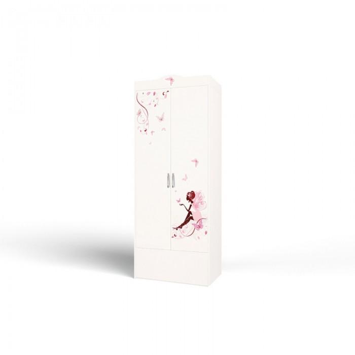 Шкафы ABC-King 2-х дверный Swarovski Фея со стразами шкафы фея 2 х секционный