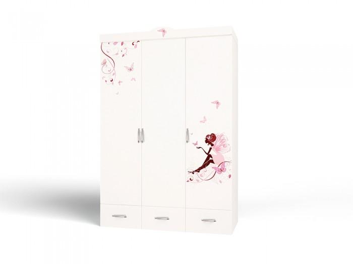 Шкафы ABC-King 3-х дверный Swarovski Фея со стразами