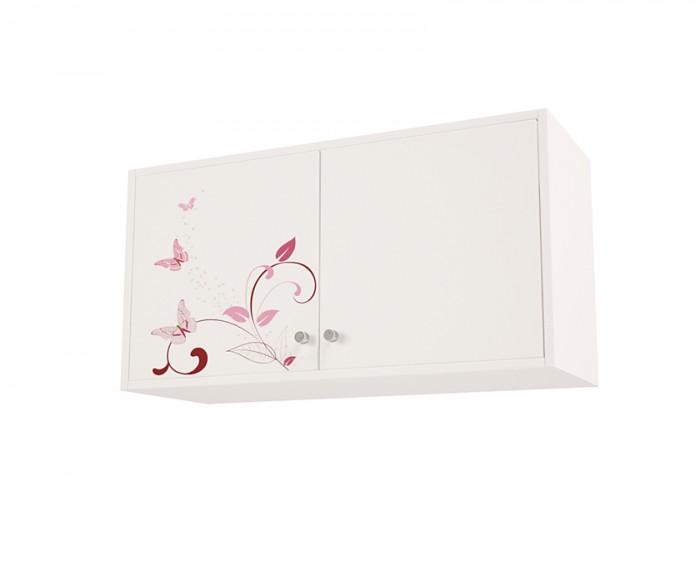 Купить Аксессуары для мебели, ABC-King Антресоль Swarovski Фея 2 с дверцами с рисунком Фея 40х55х40 см