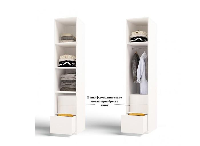 Аксессуары для мебели ABC-King Блок с 2-мя ящиками для 2-х дверного шкафа