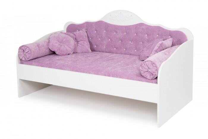 Кровати для подростков ABC-King диван Princess Фея со стразами Сваровски без ящика и матраса 190x90 см
