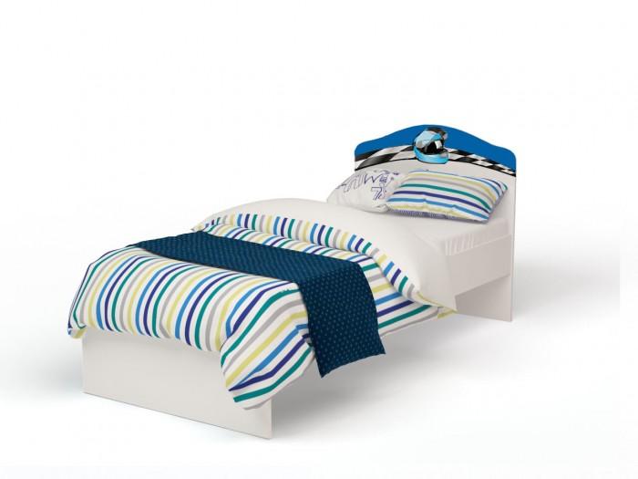 Картинка для Подростковая кровать ABC-King La-Man с рисунком без ящика 190x90 см