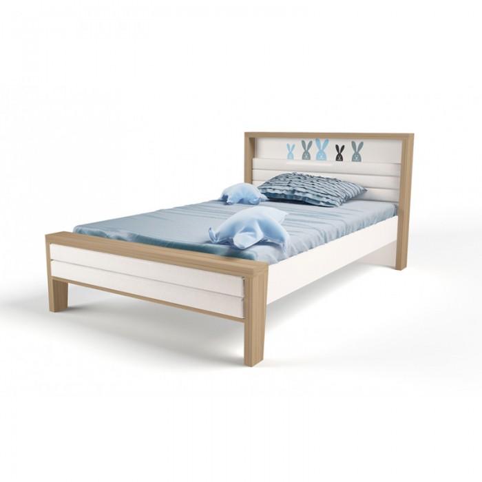 Купить Кровати для подростков, Подростковая кровать ABC-King Mix Bunny №2 с мягким изножьем 190x120 см