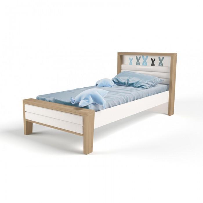 Подростковая кровать ABC-King Mix Bunny №2 с мягким изножьем 190x90 см фото