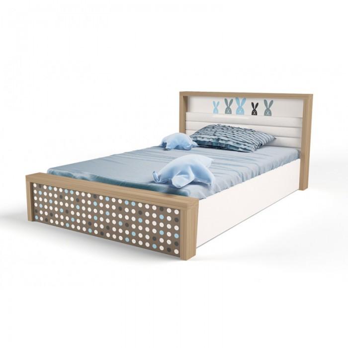 Купить Кровати для подростков, Подростковая кровать ABC-King Mix Bunny №5 c подъёмным механизмом 190x120 см