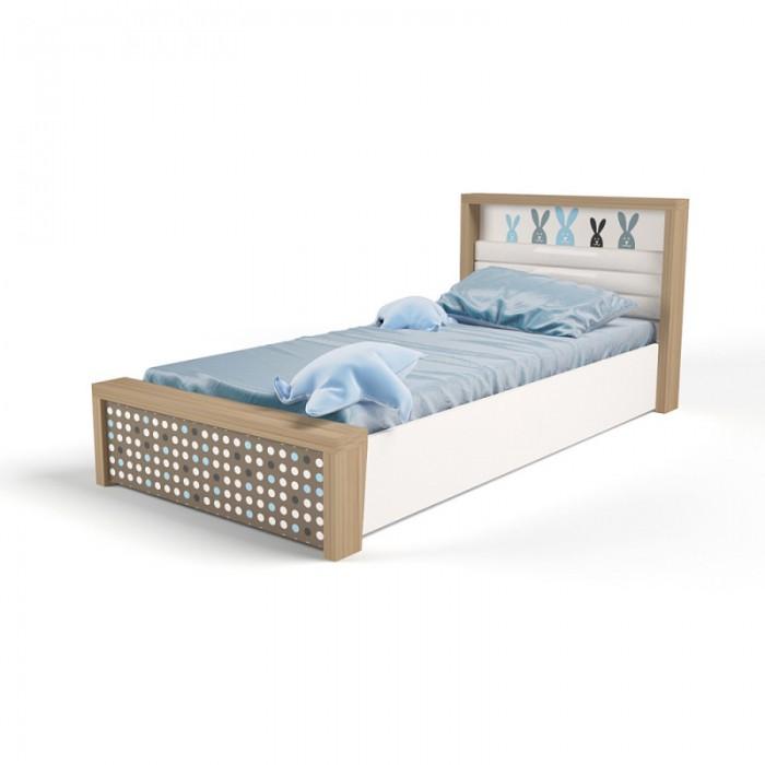 Подростковая кровать ABC-King Mix Bunny №5 c подъёмным механизмом 190x90 см фото