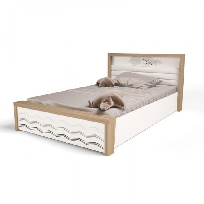 Подростковая кровать ABC-King Mix Ocean №5 c подъёмным механизмом 190x120 см фото
