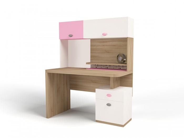 Аксессуары для мебели ABC-King Полка навесная надстройка на стол Mix (левая)