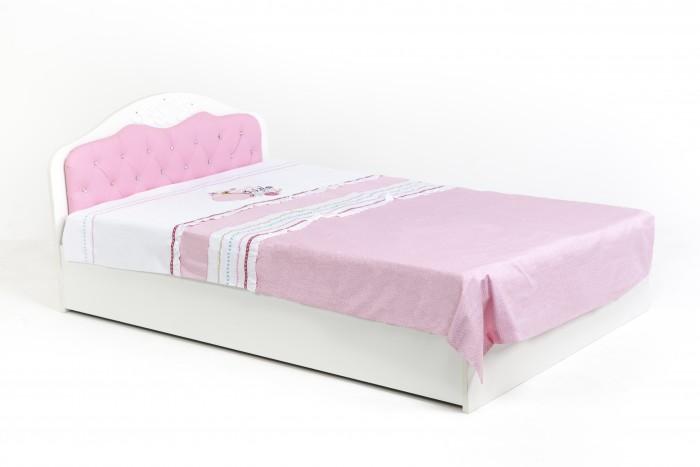 Кровати для подростков ABC-King Princess со стразами Сваровски и подъемным механизмом 190x120 см