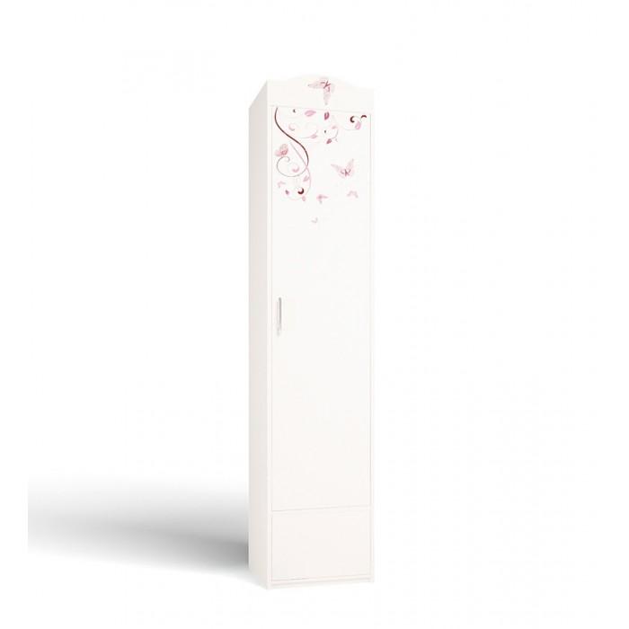 Купить Шкафы, Шкаф ABC-King с 1-й дверью с бабочками Swarovski Фея 1 (правый)