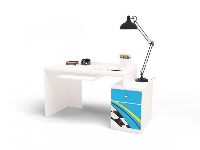 Купить Детские столы и стулья, ABC-King Стол модульный Г и Тумба 400 La-man (левый)