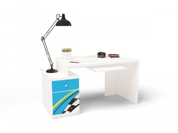 Купить Детские столы и стулья, ABC-King Стол модульный Г и Тумба 400 La-man (правый)