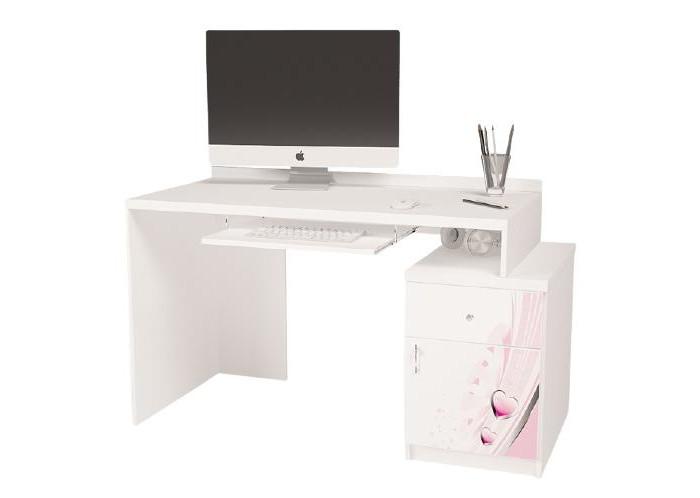 Купить Детские столы и стулья, ABC-King Стол модульный Г и Тумба 400 Princess (правый)