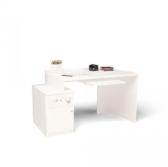 Купить Детские столы и стулья, ABC-King Стол модульный Г и Тумба 400 Swarovski Фея (правый)