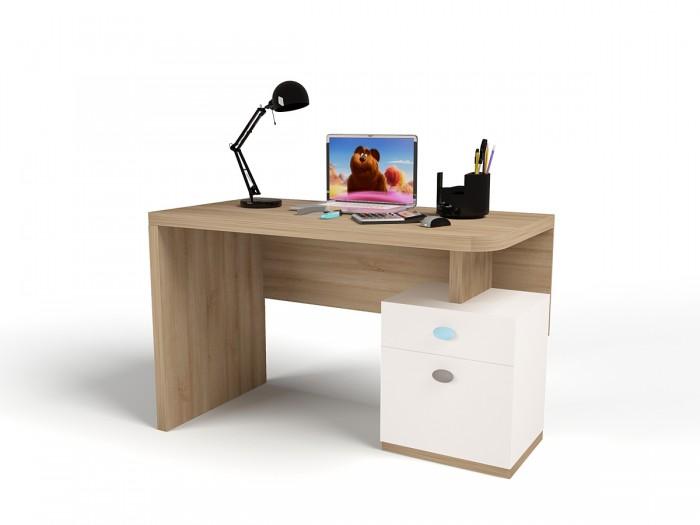 Купить Детские столы и стулья, ABC-King Стол письменный Mix Bunny (левый)