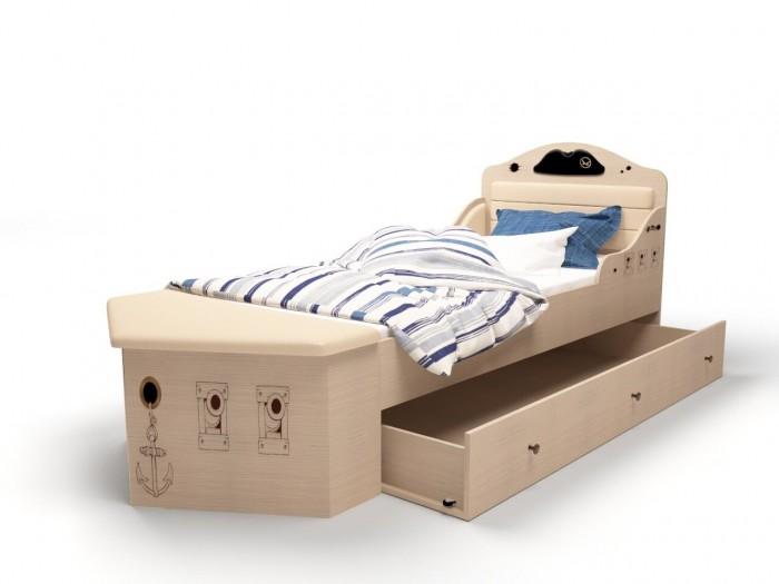 Купить Аксессуары для мебели, ABC-King Ящик под кровать Pirat 150х90 см