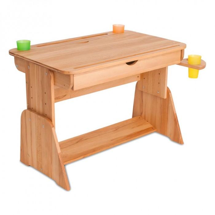 Абсолют-Мебель Парта Школярик с мольбертом и выдвижным ящиком 70 см