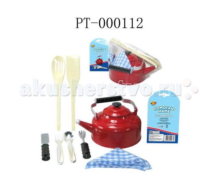 Ролевые игры ABtoys Помогаю Маме Посуда для кухни 8 предметов