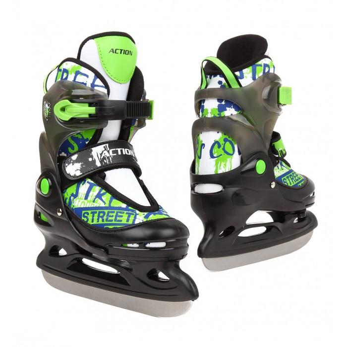 Ледовые коньки и лыжи Action Коньки хоккейные PW-211F
