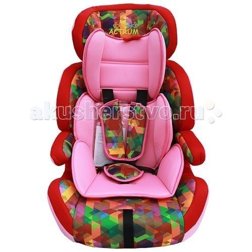 Автокресло Actrum 515-DL515-DLДетское автокресло Actrum 515-DL с длительным сроком использования, группы 1-2-3 (вес - от 9 до 36 кг, возраст - от 9 месяцев до 12-ти лет). Дети весом от 9 до 18 кг должны пристегиваться ремнями, которыми оснащено сиденье; дети от 18 до 25 кг должны быть пристегнуты стандартными ремнями безопасности.  Модель имеет внутреннюю вставку с собственными ремнями безопасности для перевозки малышей от 1 года, глубокое сидение с подголовником и защитными бортами предназначено для детей от 3 до 7 лет, а съемная спинка превращает кресло в бустер для школьников. Сиденье моется теплой водой с мылом, мягкий чехол можно стирать вручную.  Особенности:  Конструкция обеспечивает правильную позицию, полный комфорт и максимальную безопасность Благодаря 5-ти точечным ремням с мягкими накладками, регулируемыми по высоте, вашему малышу будет комфортно в кресле, а вы можете быть уверены в его безопасности 5-точечные ремни безопасности с центральной регулировкой и карабином, который не сможет открыть ребёнок Съёмные ремни безопасности, когда ребёнок вырастает из 5-точечной системы и начинают использоваться штатные ремни безопасности автомобиля Удобные, легко снимающиеся, моющиеся чехлы с мягкой набивкой Конструкция автокресла отвечает самым строгим требованиям Европейского стандарта безопасности ЕСЕ R44/03  Внимание: автокресло нельзя устанавливать на сидении с включенной подушкой безопасности.<br>