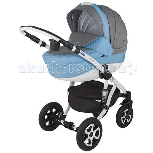 Коляска Adamex Barletta 3 в 1Barletta 3 в 1Barletta - коляска 3 в 1, имеющая просторную люльку и удобный для малыша прогулочный блок.  Современный дизайн, высококачественные материалы, прочная рама, отличная комплектация и функциональность - все это сочетает в себе коляска Adamex Barletta!  Шасси коляски:  Сочетание классического и современного дизайна Гондола с возможностью модульной установки и прогулочный блок Можно устанавливать лицом или спиной по направлению к движению Эта модель гарантирует полный комфорт, удобство и безопасность, как Вам, так и Вашему ребёнку.  Оснащение Adamex Barletta:   Функцией регулирования спинки люльки Комфортные надувные колеса с подшипниками  Хромированные части конструкции, выполненные из металла или алюминия Эксклюзивная ткань обшивки коляски  Ручка, регулируемая по высоте  Автокресло:  автокресло для детей до 10 кг размер автокресла: 68х43х47 см вес автокресла: 3,15 кг есть накидка на ножки, защитит малыша от ветра и дождя выполнена из натуральных и высококачественных материалов Адаптеры для автокресла  Комплектация:   дождевик антимоскитная сетка  шторки в люльку теплые муфта-варежки подстаканник  люлька автокресло сумка  Размеры и вес :   Размер в разложенном виде: ДхШхВ - 128 х 60 х 107 см Размер в сложенном виде: ДхШхВ - 97 х 60 х 33 см Сидение: ДхШ - 90 х 34 см Люлька: ДхШхГ - 80 х 36 х 23 см Автокресло 68х43х47 см Вес:  Люлька - 4,85 кг Автокресло 3,15 кг Прогулочный блок - 5,45 кг Рама - 5 кг Колеса - 3,7 кг<br>