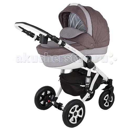 Коляска Adamex Barletta 3 в 1Barletta 3 в 1Коляска Adamex Barletta 3 в 1 - коляска, имеющая просторную люльку и удобный для малыша прогулочный блок.  Современный дизайн, высококачественные материалы, прочная рама, отличная комплектация и функциональность - все это сочетает в себе коляска Adamex Barletta!  Комплектация детской коляски Adamex Barletta имеет в составе дождевик, антимоскитную сетку, чтобы вашего малыша не покусали насекомые, теплую муфту для рук, которая согреет во время осенних и зимних прогулок, а также сумку и подстаканник.  Шасси коляски:  Сочетание классического и современного дизайна Гондола с возможностью модульной установки и прогулочный блок Можно устанавливать лицом или спиной по направлению к движению Эта модель гарантирует полный комфорт, удобство и безопасность, как Вам, так и Вашему ребёнку.  Оснащение Adamex Barletta:   Функцией регулирования спинки люльки Комфортные надувные колеса с подшипниками  Хромированные части конструкции, выполненные из металла или алюминия Эксклюзивная ткань обшивки коляски  Ручка, регулируемая по высоте  Автокресло:  автокресло для детей до 10 кг размер автокресла: 68х43х47 см вес автокресла: 3,15 кг есть накидка на ножки, защитит малыша от ветра и дождя выполнена из натуральных и высококачественных материалов Адаптеры для автокресла  Комплектация:   дождевик антимоскитная сетка  шторки в люльку теплые муфта-варежки подстаканник  люлька автокресло сумка  Размеры:   Размер в разложенном виде: ДхШхВ - 128 х 60 х 107 см Размер в сложенном виде: ДхШхВ - 97 х 60 х 33 см Сидение: ДхШ - 90 х 34 см Люлька: ДхШхГ - 80 х 36 х 23 см Автокресло 68х43х47 см  Вес:   Люлька - 4,85 кг Автокресло 3,15 кг Прогулочный блок - 5,45 кг Рама - 5 кг Колеса - 3,7 кг<br>