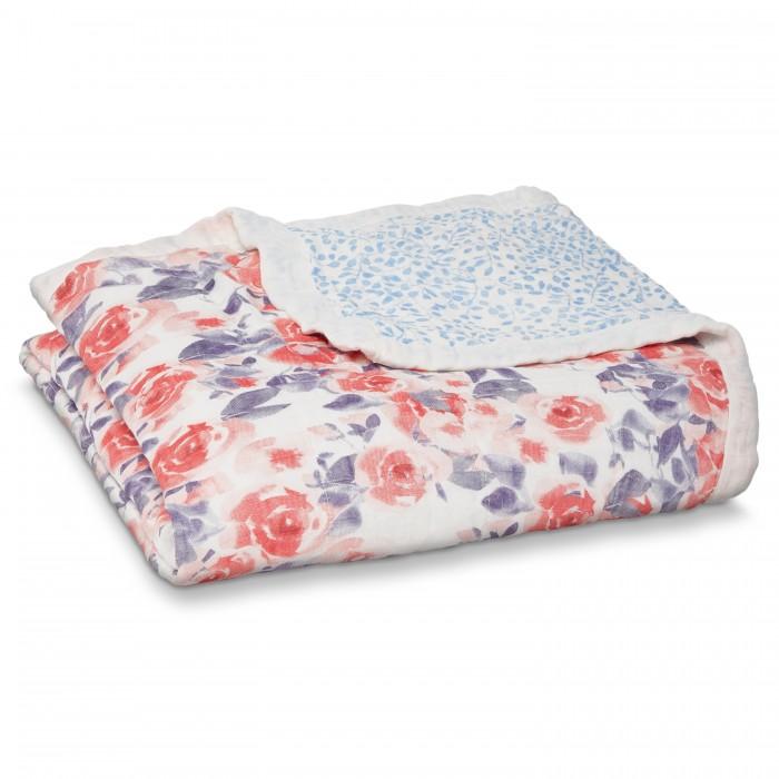 Одеяла, Одеяло Aden&Anais из бамбука 120x120 см WL5003  - купить со скидкой