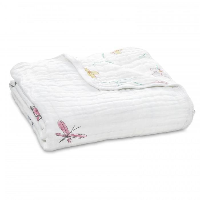 Одеяло Aden&Anais из муслинового хлопка 120х120 см 6144