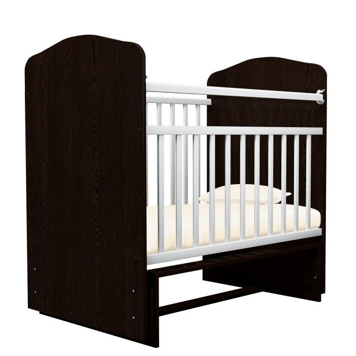 Детские кроватки Агат Золушка 10 без ящика (поперечный маятник)