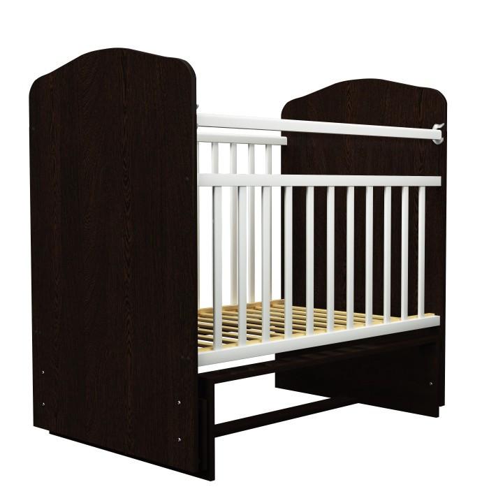 Детские кроватки Агат Золушка 10 без ящика (поперечный маятник) детские кроватки фея 311 поперечный маятник