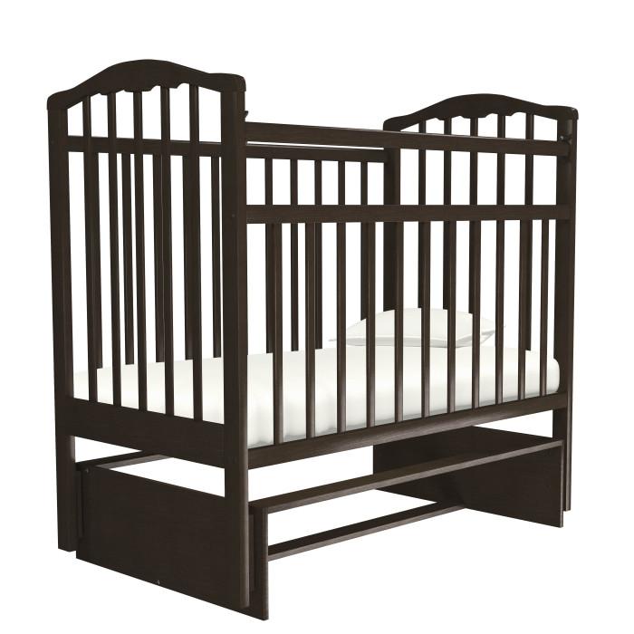 Картинка для Детская кроватка Агат Золушка-3 маятник поперечный