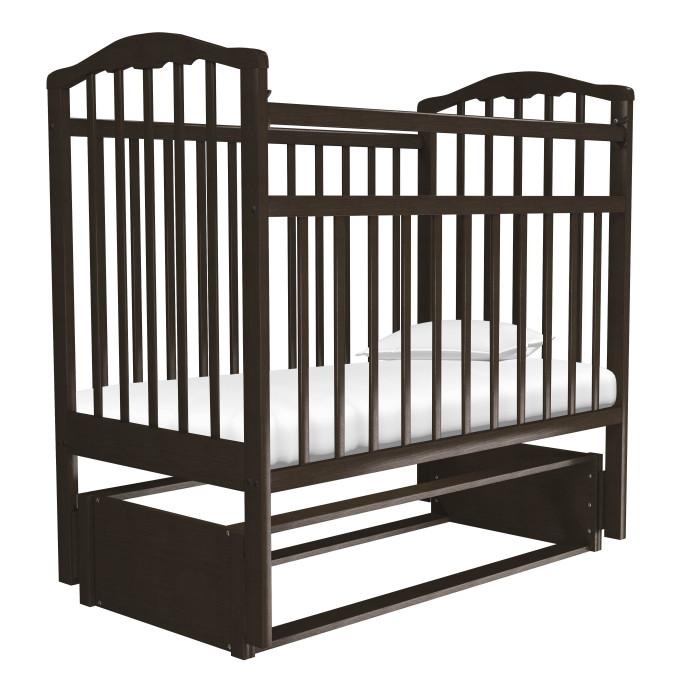 Детские кроватки Агат Золушка-5 маятник продольный кроватка агат золушка 5 орех 52101