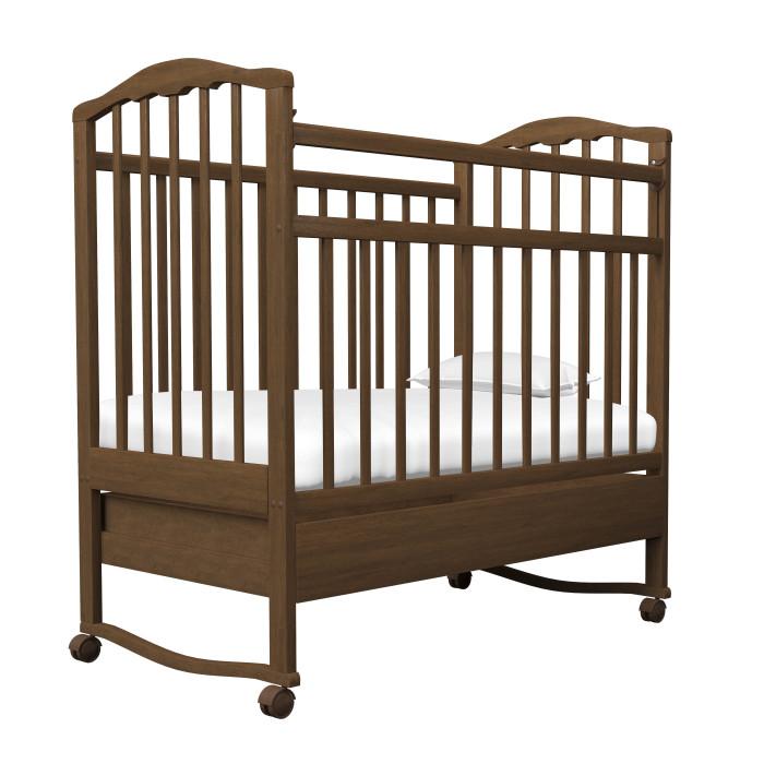 Детские кроватки Агат Золушка-2 качалка с ящиком детские кроватки фея 603 с ящиком