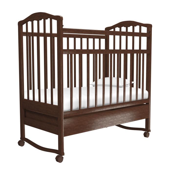 Детские кроватки Агат Золушка-2 качалка с ящиком