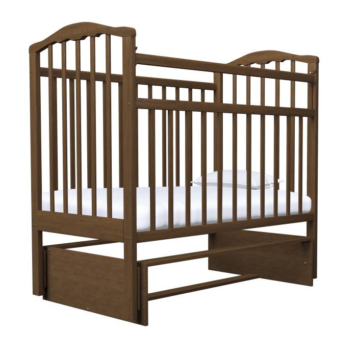 Детские кроватки Агат Золушка-3 маятник поперечный обычная кроватка агат 52103 золушка 3 вишня