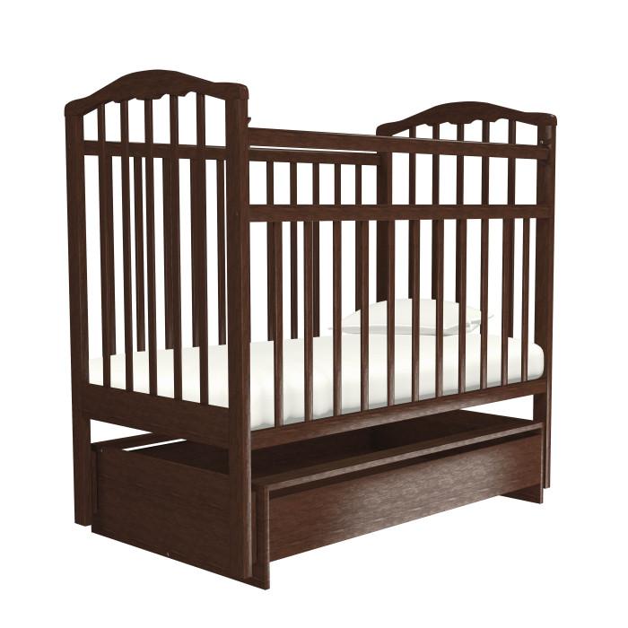 детские кроватки агат золушка 6 маятник продольный с ящиком Детские кроватки Агат Золушка-4 маятник поперечный с ящиком