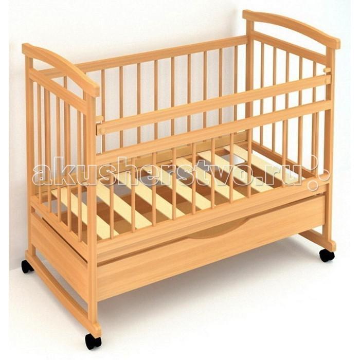 Детская кроватка Бэби Бум Аленка 1 качалка