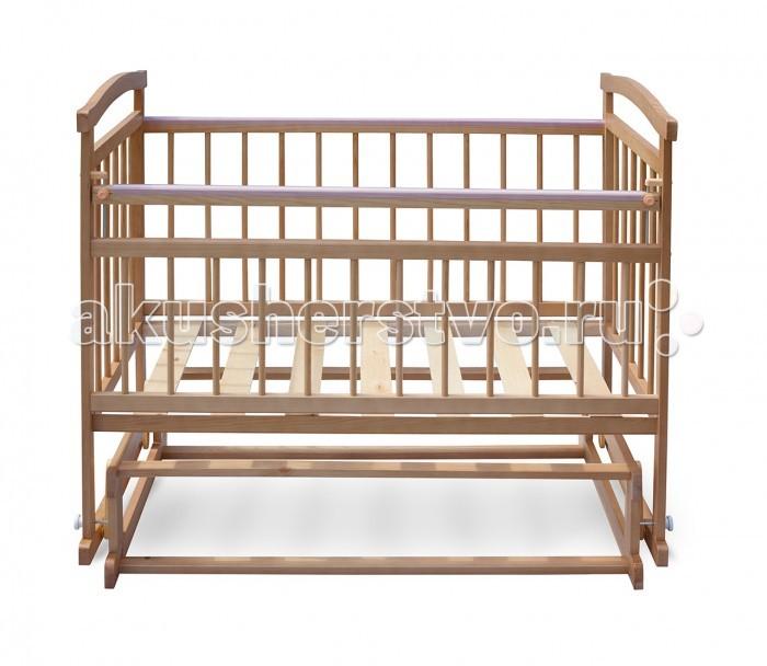 Детская кроватка Бэби Бум Аленка 2 поперечный маятник