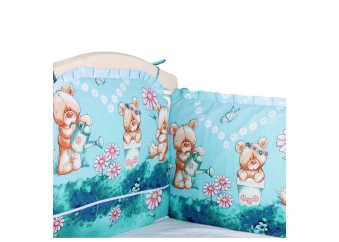Бортики в кроватку Alis Борт в кроватку 360х40 см alis весело шагать sra18 orange