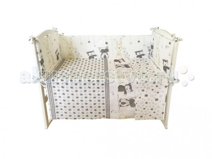 Комплекты в кроватку Alis Лапочки (4 предмета) комплекты в кроватку bambola мозаика 4 предмета
