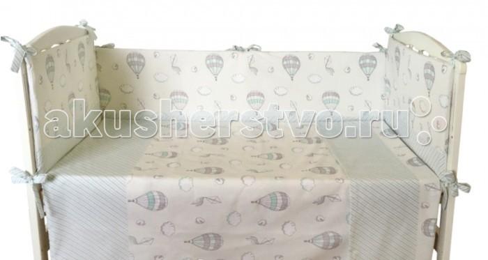 Комплекты в кроватку Alis Поиграем (4 предмета) комплекты в кроватку bambola мозаика 4 предмета