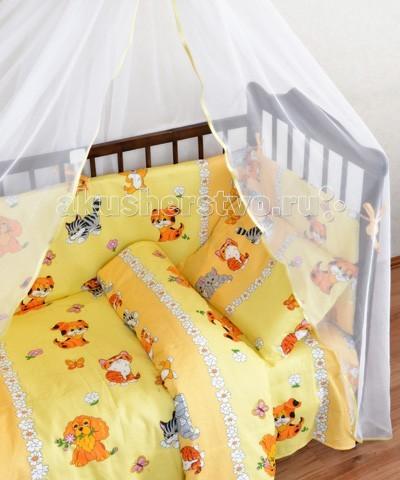 Комплекты в кроватку Alis Кот и пес (6 предметов) alis