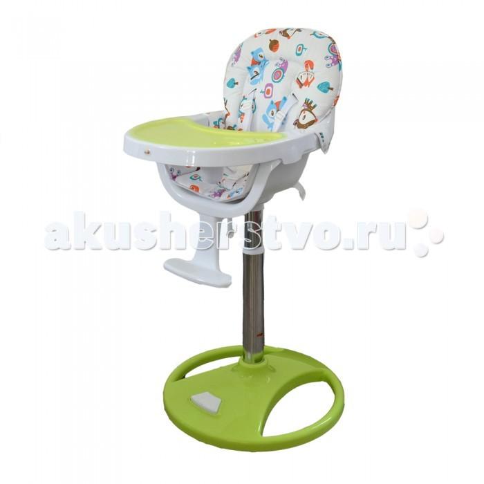 Стульчик для кормления Alis MacMacСтульчик для кормления Alis Mac  позволяют посадить ребенка к столу вместе со взрослыми или опустить кресло на комфортный уровень, чтобы малыш мог забираться в него самостоятельно.  Ремни безопасности соединяются в надежном замке. Снабжены пластиковым упором между ножек, что является дополнительным средством защиты подвижного малыша и не позволит сползти вниз.  У моделей удобные водонепроницаемые чехлы с утолщениями по периметру спинки, которые не позволят грудничку заваливаться на бок. В комплектацию входят удобные съемные столешницы и дополнительные подносы с углублением для стаканчика и ложки.  Особенности: от 5 мес до 3 лет 6 уровней сидения по высоте; 5-ти точечные ремни безопасности; пластиковая подставка для ножек; съемная и регулируемая столешница; возможность регулировать высоту стула с помощью нажатия ноги; можно задвинуть под стол.<br>