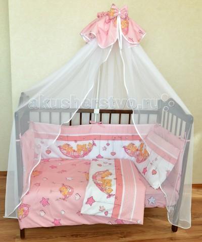 Комплекты в кроватку Alis Мишки в гамаке (6 предметов)