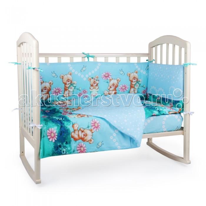 Комплекты в кроватку Alis Мишутка с лейкой (6 предметов) коляска 2 в 1 alis nancy