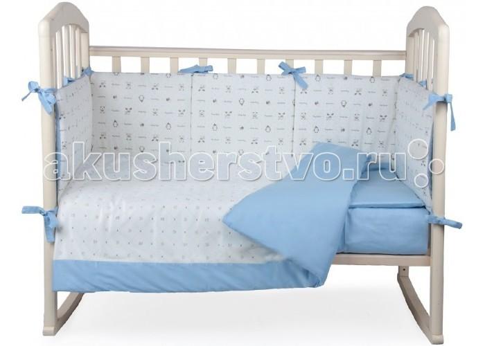 Комплект в кроватку Alis Плюшевое облако (6 предметов)